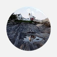 Pemaquid Point Light Ornament (Round)