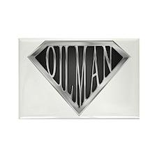 SuperOilman(metal) Rectangle Magnet