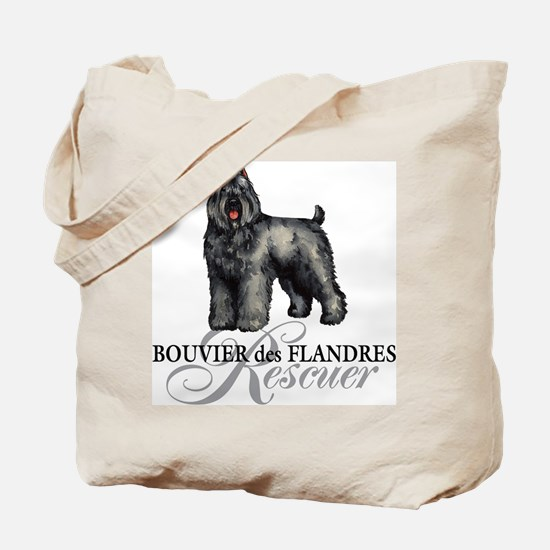 Bouvier Rescue Tote Bag