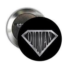 "SuperOilman(metal) 2.25"" Button"