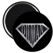 SuperOilman(metal) Magnet