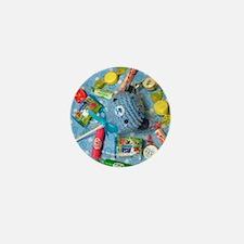 Amigurumi Lollipop Candy Bear Button