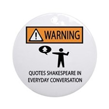 Quotes Ornament (Round)