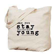 Forever Young/Bob Dylan Tote Bag