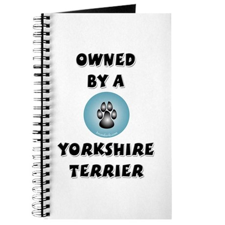 Owned by a Yorkie Journal