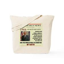 born in 1966 birthday gift Tote Bag