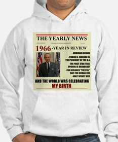born in 1966 birthday gift Hoodie