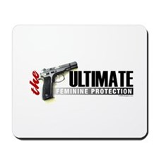 The Ultimate Feminine Protection Mousepad