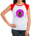 Women's Cap Sleeve T-Shirt - Silly CCLS Logo