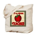 7th grade teacher Tote Bag