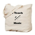 I Teach Music Tote Bag