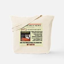 born in 1972 birthday gift Tote Bag