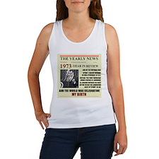 born in 1973 birthday gift Women's Tank Top