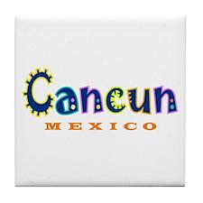 Cancun - Tile Coaster