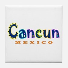 Cancun - Tile Coaster