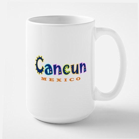 Cancun - Large Mug