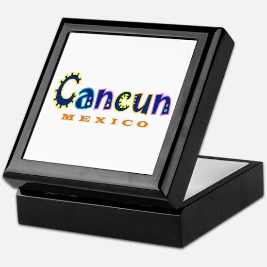 Cancun - Keepsake Box