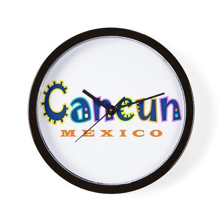 Cancun - Wall Clock