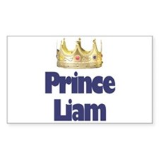 Prince Liam Rectangle Decal