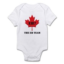 The Canada Eh Team Infant Bodysuit