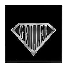 SuperGriller(metal) Tile Coaster