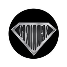 """SuperGriller(metal) 3.5"""" Button (100 pack)"""