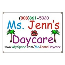 Cute Daycare Banner