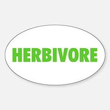Herbivore Oval Decal