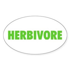 Herbivore Oval Stickers