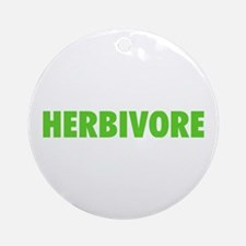 Herbivore Ornament (Round)
