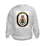 USS Cowpens CG-63 Kids Sweatshirt