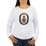 USS Cowpens CG-63 Women's Long Sleeve T-Shirt