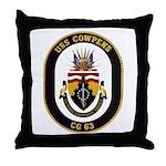 USS Cowpens CG-63 Throw Pillow