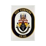USS Cowpens CG-63 Rectangle Magnet (10 pack)