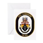 USS Cowpens CG-63 Greeting Cards (Pk of 10)