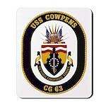 USS Cowpens CG-63 Mousepad