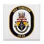 USS Cowpens CG-63 Tile Coaster