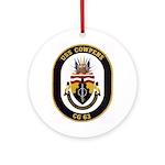 USS Cowpens CG-63 Ornament (Round)