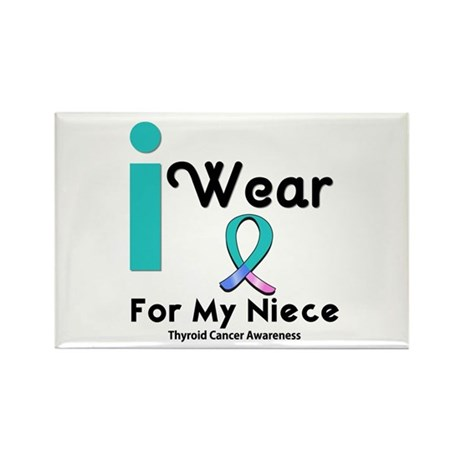 Thyroid Cancer Rectangle Magnet (10 pack)