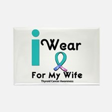Thyroid Cancer Rectangle Magnet