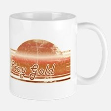 Vintage Distressed Stay Gold Mug