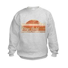 Vintage Distressed Stay Gold Sweatshirt