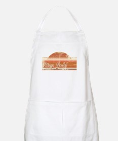 Vintage Distressed Stay Gold BBQ Apron