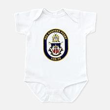 USS Harpers Ferry LSD-49 Infant Bodysuit