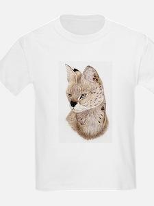 Serval Kids T-Shirt