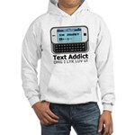 Text Addict Hooded Sweatshirt