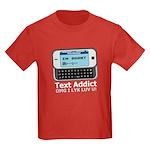 Text Addict Kids Dark T-Shirt