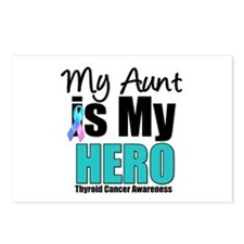Thyroid Cancer Hero Postcards (Package of 8)