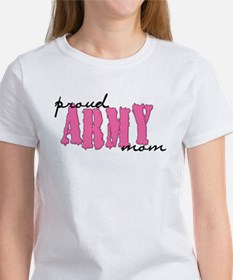 cp proud army mom pink T-Shirt
