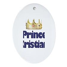 Prince Cristian Oval Ornament